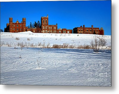Maine Criminal Justice Academy In Winter Metal Print