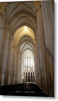 Metal Print featuring the photograph Majestic Gothic Cathedral In Portugal by Kirsten Giving