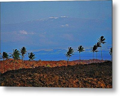 Majestic Mauna Kea Metal Print by Bette Phelan