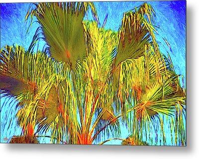 Majestic Palm Metal Print by Gerhardt Isringhaus