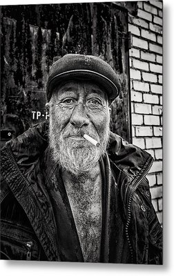 Metal Print featuring the photograph Man Of Freedom by John Williams