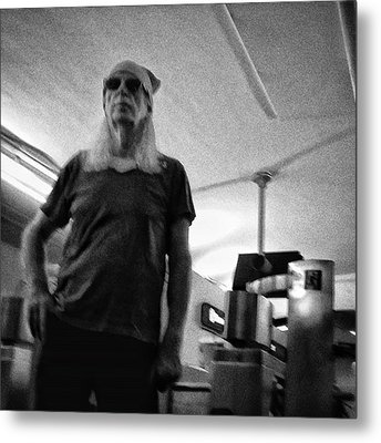 #man #portrait #instapeople Metal Print by Rafa Rivas