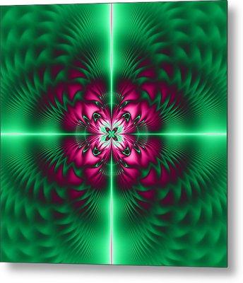 Mandala 7 Metal Print by Sfinga Sfinga