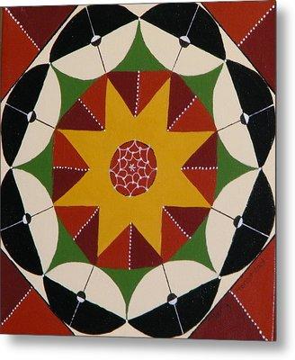 Mandala Metal Print by Terry Honstead