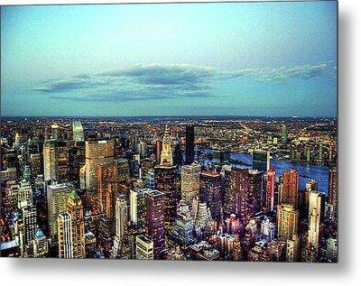 Manhattan's Upper East Side Metal Print by Randy Aveille
