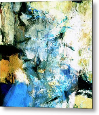 Metal Print featuring the painting Manifestation by Dominic Piperata
