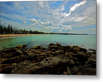 Manly Bliss Metal Print