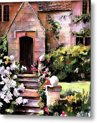 Manor House Metal Print by Marti Green