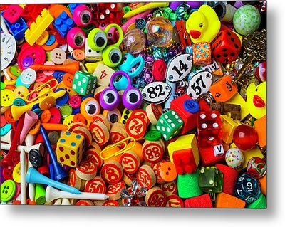 Many Things From The Drawer Metal Print