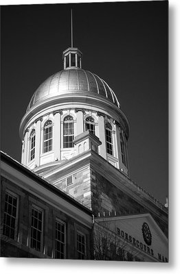Marche Bonsecours  Metal Print by Juergen Weiss