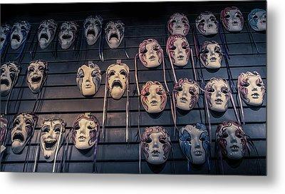 Mardi Gras Mask Metal Print