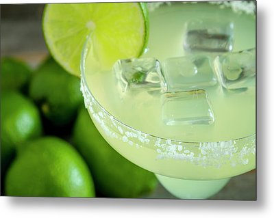 Metal Print featuring the photograph Margaritas Anyone by Teri Virbickis