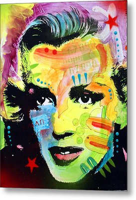 Metal Print featuring the painting Marilyn Monroe I by Dean Russo