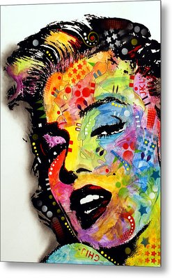 Metal Print featuring the painting Marilyn Monroe II by Dean Russo