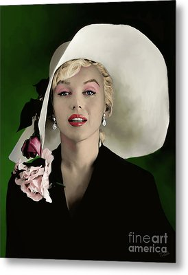 Marilyn Monroe Metal Print by Paul Tagliamonte