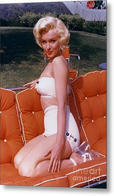 Marilyn Monroe Metal Print by The Titanic Project