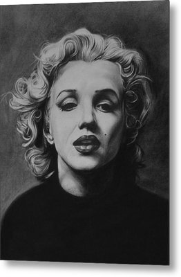 Marilyn Metal Print by Steve Hunter