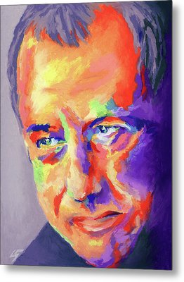 Mark Knopfler Metal Print by Stephen Anderson
