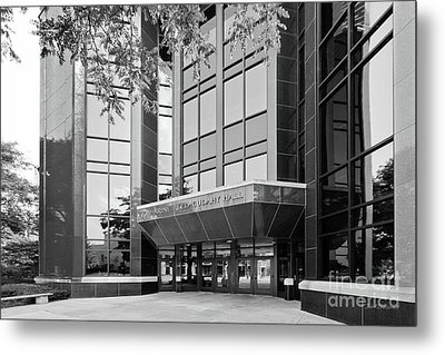 Marquette University Cudahy Hall Metal Print