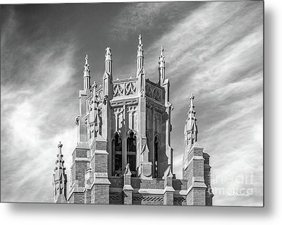 Marquette University Marquette Hall Metal Print