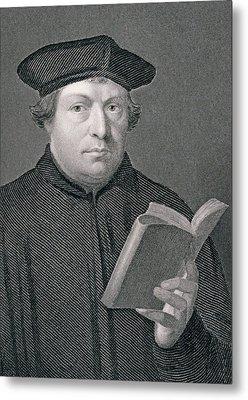 Martin Luther Metal Print