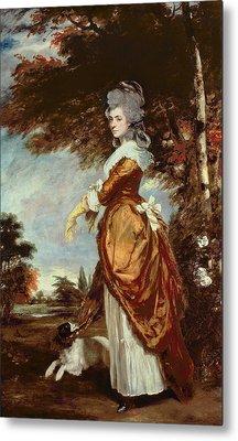 Mary Amelia First Marchioness Of Salisbury Metal Print by Sir Joshua Reynolds