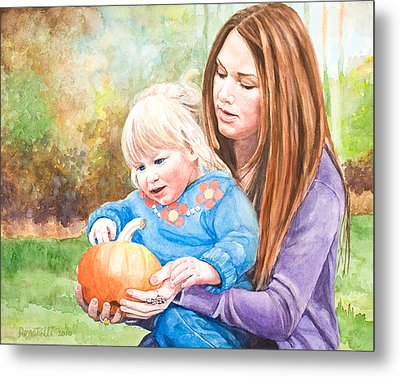 Mary And Grace Metal Print