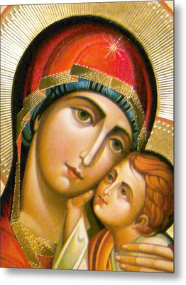 Mary Icon Metal Print