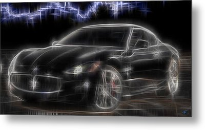 Maserati Metal Print by Kenneth Armand Johnson