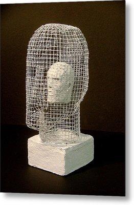 Mask Metal Print by Gary Kaemmer