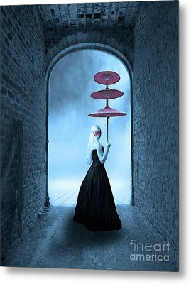 Metal Print featuring the photograph Masquerade by Juli Scalzi