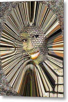 Masquerade Metal Print by LeeAnn Alexander