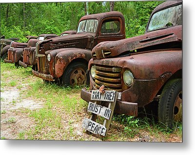 May They Rust In Peace Metal Print