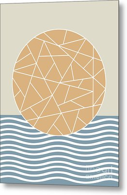 Maybe The Sea Metal Print by Absentis Designs