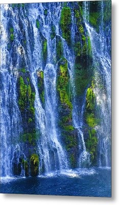 Metal Print featuring the photograph Mcarthur-burney Falls by Sherri Meyer