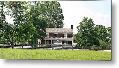 Mclean House Appomattox Court House Virginia Metal Print by Teresa Mucha