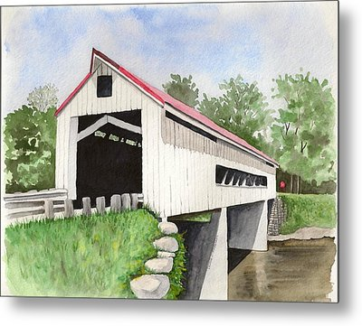 Mechanicsville Rd Bridge Metal Print