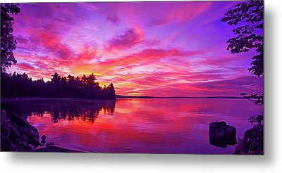 Meddybemps Sunrise Metal Print by ABeautifulSky Photography