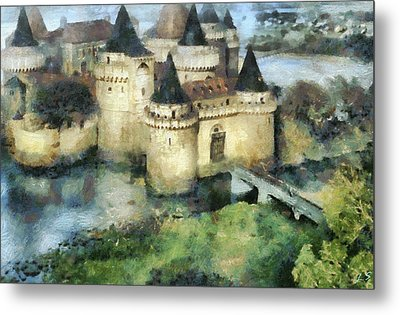 Medieval Knight's Castle Metal Print by Sergey Lukashin