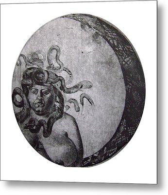 Medusa Metal Print by Adina Iancu