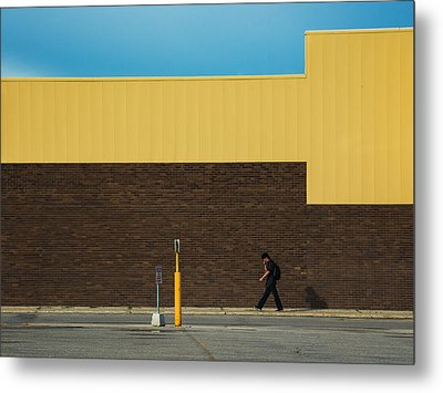 Meet Me At The Mall Metal Print by Bryan Scott