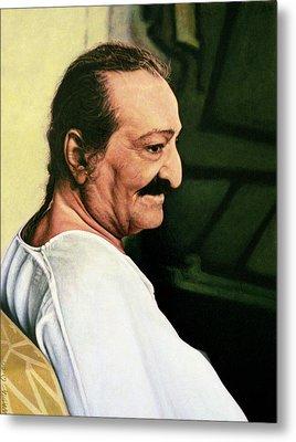 Meher Baba 3 Metal Print by Nad Wolinska