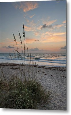 Melbourne Beach Sunrise Metal Print