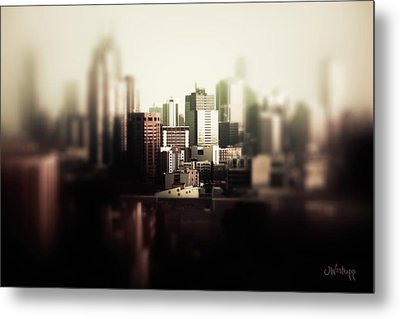 Melbourne Towers Metal Print by Joseph Westrupp