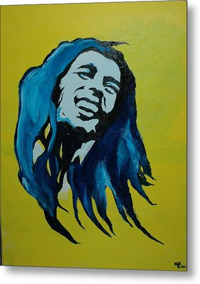 Mellow Marley Metal Print by Matt Burke