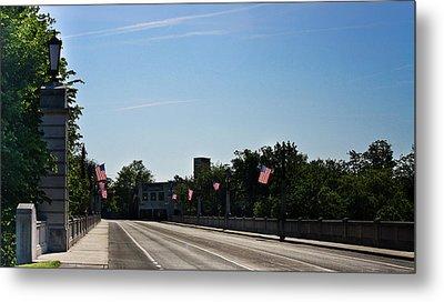 Memorial Avenue Bridge Roanoke Virginia Metal Print by Teresa Mucha
