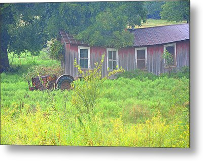 Memories Of Oklahoma Metal Print