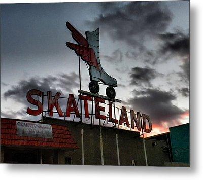 Memphis - Skateland 001 Metal Print by Lance Vaughn