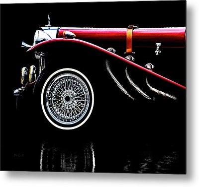 Mercedes Benz Ssk  Metal Print by Bob Orsillo