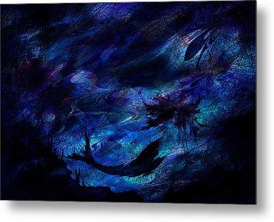 Mermaid Metal Print by Rachel Christine Nowicki